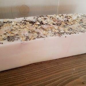 All natural, handmade soap